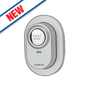 Aqualisa Visage Digital Remote Shower Switch Satin Chrome 92mm