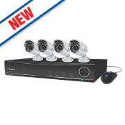 Swann SWDVK-841004A 8-Channel 960H CCTV Digital Video Recorder w/ 4 Cameras