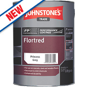 Johnstones Semi-Gloss Floor Paint Princess Grey 5Ltr