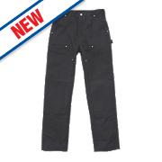 """Carhartt Work Trousers Black 32"""" W 32"""" L"""