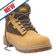 Site Marble Safety Boots Honey Size 12