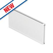 Barlo Round-Top Double Panel Plus Radiator White 500 x 600mm