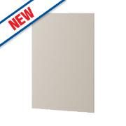 Matt Stone Shaker Kitchen End Support Panel 600 x 18 x 900mm