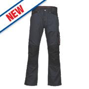 "Timberland Pro 621 Multi-Pocket Trousers Castor Grey 38"" W 30"" L"