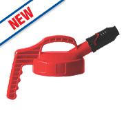 Lubetech Oil Safe Stumpy Spout Lid Red
