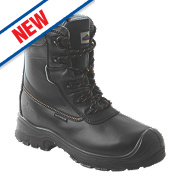 "Composite Lite 7"" Safety Boots Black Size 8"