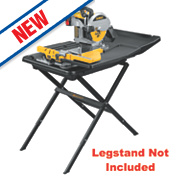 DeWalt D24000-GB 250mm Sliding Table Wet Tile Saw 240V