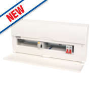 18-Way Split Load Consumer Unit 80A RCD & 100A Switch