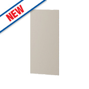Matt Stone Shaker Kitchen Add-On Wall Panel 355 x 18 x 776mm