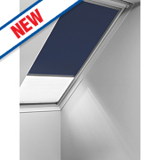 Velux Duo Roof Window Black-Out Blind White 660 x 1180mm