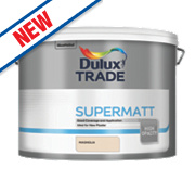 Dulux Trade Supermatt Emulsion Paint Magnolia 10Ltr