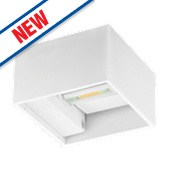 Luceco LED Wall Light White 165Lm 8W
