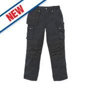 "Carhartt Multi-Pocket Ripstop Trousers Black 30"" W 32"" L"