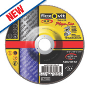 Flexovit Ultra Thin Metal Cutting Discs 125 x 0.8 x 22.23mm Bore Pack of 5