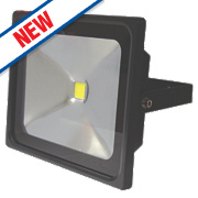 LAP Slimline LED Floodlight 30W Black