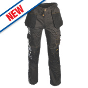 "Roughneck Holster Trousers Black/Grey 40"" W 31"" L"