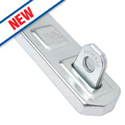 Sterling Hasp & Staple 100mm