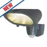 PIR Sensor Security Light Graphite Effect 220-240V 230W 4650Lm