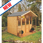 Forest Maplehurst Summerhouse 2.26 x 2.12 x 2.14m