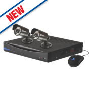 Swann DVR4-1260 4-Channel D1 CCTV Digital Video Recorder Kit with 2 Cameras