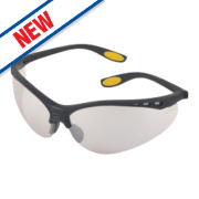 DeWalt Reinforcer Indoor / Outdoor Lens Safety Specs
