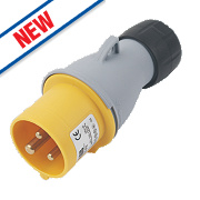 ABB Straight Plug 16A 2P+E 110V 4H IP44
