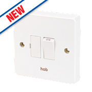Crabtree 13A Switched Fused Connection Unit - Hob - White Pack of 10