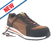Puma Barani Low Safety Trainers Brown Size 12