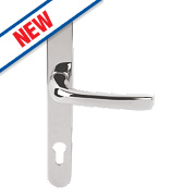 Mila ProLinea Lever Door Handles Type B Pair Polished Chrome
