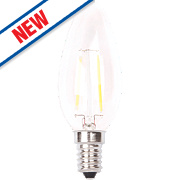 LAP Candle LED Lamps SES 2W Pack of 4