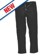 Portwest Bizweld Trousers Black 32