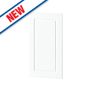 White Kitchens Profiled 400 Base/Wall Door 396 x 732mm