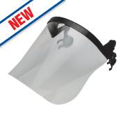 Centurion Connect Polycarbonate Helmet Face Screen Clear