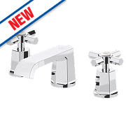 Watersmith Bathroom Basin Mono Mixer Tap with Click Waste