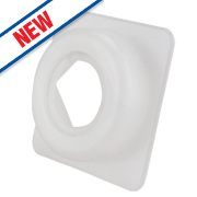 Arctic Products Universal Top Hat Washers White ½
