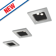 Philips Stardust Fixed Recessed LED Downlights 880Lm Silver 6W 220-240V Pack of 3