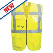Portwest Hi-Vis Thermal Waistcoat Yellow XX Large 52