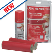 Rothenberger Tradesmans Pipe Freezing Kit.