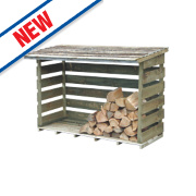 Forest Large Log Store 6' x 2' 11