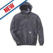Carhartt K121 Hoodie Charcoal Heather X Large