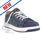 Site Norite Safety Trainers Blue Size 8
