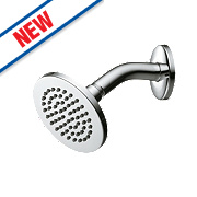 Ideal Standard Fixed Shower Head Chrome 172 x 132mm