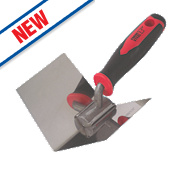 Forge Steel Internal Corner Trowel