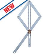 Hultafors Adjustable Angle Finder Combi Square