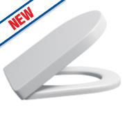 Supreme Round Soft-Close Toilet Seat Polypropylene White