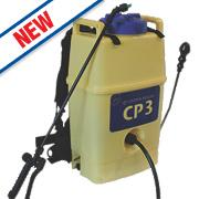 Hozelock CP3 Yellow & Blue Diaphragm Pump Knapsack Sprayer & Harness 20Ltr