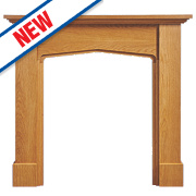Focal Point Mini Mercia Fire Surround Oak Veneer