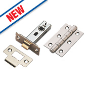 Smith & Locke Latch Pack Polished Chrome