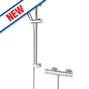 Bristan Frenzy CoolTouch Exposed Thermostatic Mixer Shower Chrome