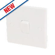 Schneider Electric Ultimate 1-Gang 10AX Intermediate Switch White